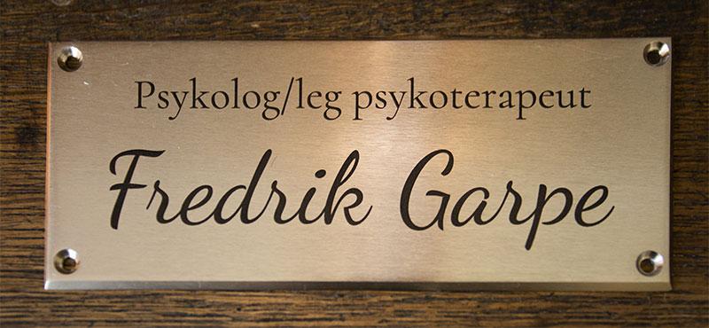 FREDRIK GARPE